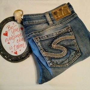 Silver Tuesday Distressed Jeans